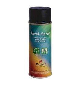 Rayher Acryl spray antraciet