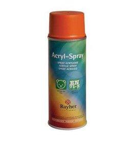 Rayher Acryl spray oranje