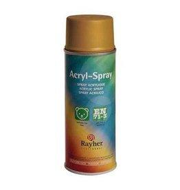 Rayher Acryl spray antiek goud