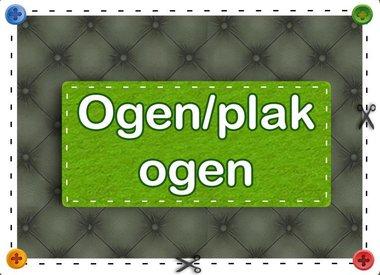 Ogen/Plak Ogen