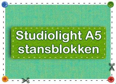 Studiolight A5 stansblokken