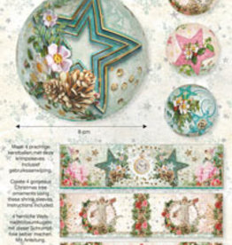 Studiolight CHRISTMAS SLEEVES, SHABBY SCHIC 08