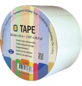 Je Je Produkt Double-sided adhesive tape 15 m x 65 mm