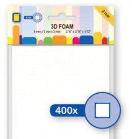 Je Je Produkt 3D Foam blokjes 5mm x 5mm x 2mm