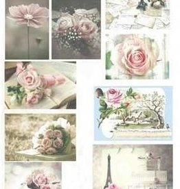 Hobbytheek Fotovellen bloemen