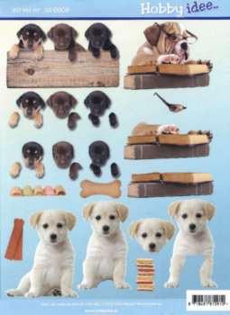 Hobby Idee 3D vel Honden Hobbyidee