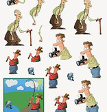Hobby Idee 3D vel Mannen Hobbyidee