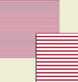 Wekabo Achtergond vel 213 - Streep rood