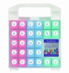 Lower Case Alphabet Craft Punch set
