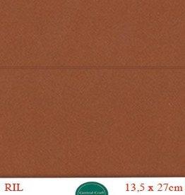 Hobbycentraal Kaartkarrton 13,5_27 cm  bruin