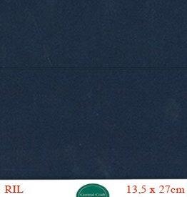 Hobbycentraal Kaartkarrton 13,5_27 cm   20 vel donker blauw