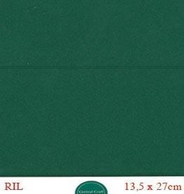 Hobbycentraal Kaartkarrton 13,5_27 cm kerst groen