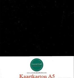 Hobbycentraal A5 Kaartkarton zwart