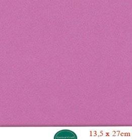 Hobbycentraal 13,5 x 27 cm Kaartkarton donker roze