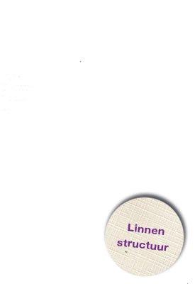 Hobbycentraal A5 Karton Linnen  wit