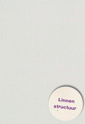 Hobbycentraal A5 Karton Linnen  10 vel   l. grijs
