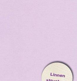 Hobbycentraal A5 Karton Linnen  10 vel   Lila