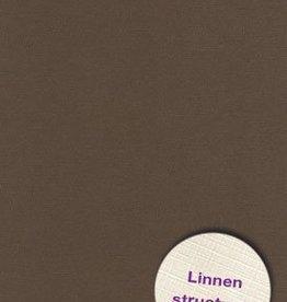 Hobbycentraal A5 Karton Linnen  10 vel   Bruin