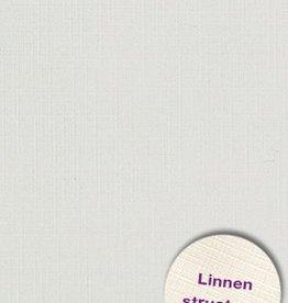 Hobbycentraal Karton 13,5_27cm Linnen  10 vel   grijs