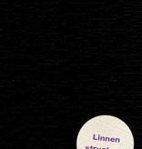 Hobbycentraal Karton 13,5_27cm Linnen  10 vel   zwart