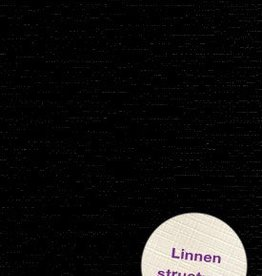 Hobbycentraal Karton 13,5_27cm Linnen  zwart