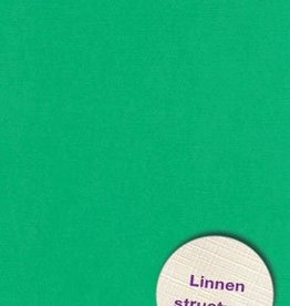 Hobbycentraal A4 Karton Linnen  10 vel   gras groen
