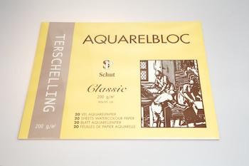 Terschelling AQUARELBLOC Classic  40x50 cm 200 grams