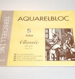 Terschelling AQUARELBLOC Classic  40x50 300 grams