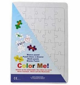 Collall Color Me Blanco Puzzle A4