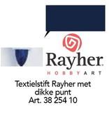 Rayher Textielstiften, dikke punt