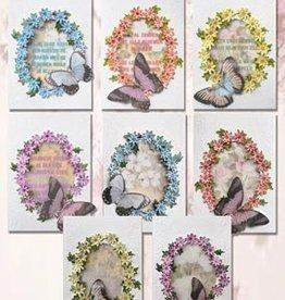 Creatief Art Flower Art butterflies Kaartpakket