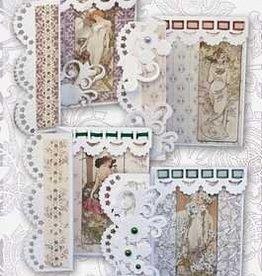 Creatief Art Vouwkaarten Art Deco