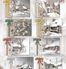 Creatief Art Transparent Christmas 01