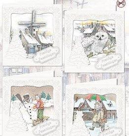 Creatief Art Christmas Eve Kaartpakket