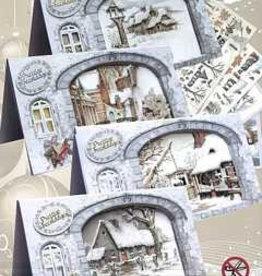 Creatief Art Pakket A white Christmas 01 uitdruk