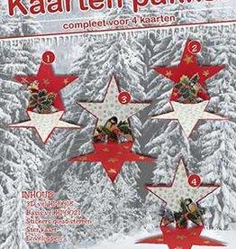 Hobby Idee Kaartenset kerststerren