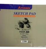 Artmate Artmate Sketch pad A4 160 gr 30 sheets