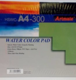 Artmate Artmate watercolour pad A4 300 gr 12 sheets