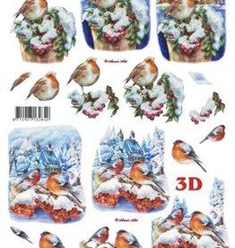 LeSuh Uitdrukvel kerst vogels