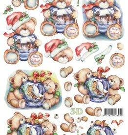 LeSuh Uitdrukvel kerst beren