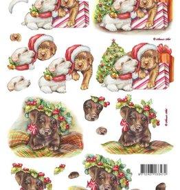 LeSuh Uitdrukvel kerst honden