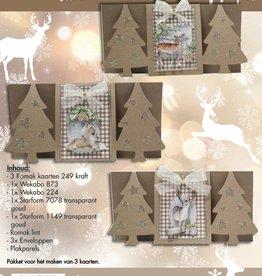 Hobby Idee Kaartpakket kerst Hobbyidee