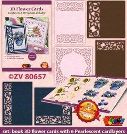 Doodey 3D Flowers + 6 cardlayers