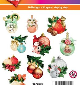 Hearty Crafts Easy 3D - X-mas Baubles