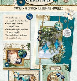 Studiolight STANSBLOK A4, CONTENT 12 SHEETS DIE CUT, ROYAL CHRISTMAS NR.54