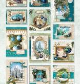 Studiolight STANSBLOK A4, CONTENT 12 SHEETS DIE CUT, ROYAL CHRISTMAS NR.54