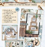 Studiolight STANSBLOK A4, CONTENT 12 SHEETS DIE CUT, WINTER FEELINGS NR.55