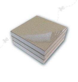 Notebooks blank 3 pieces 9x9cm