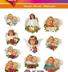 Hearty Crafts Easy 3D-Toppers Vintage Angels
