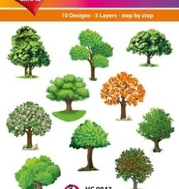 Hearty Crafts Easy 3D - Trees